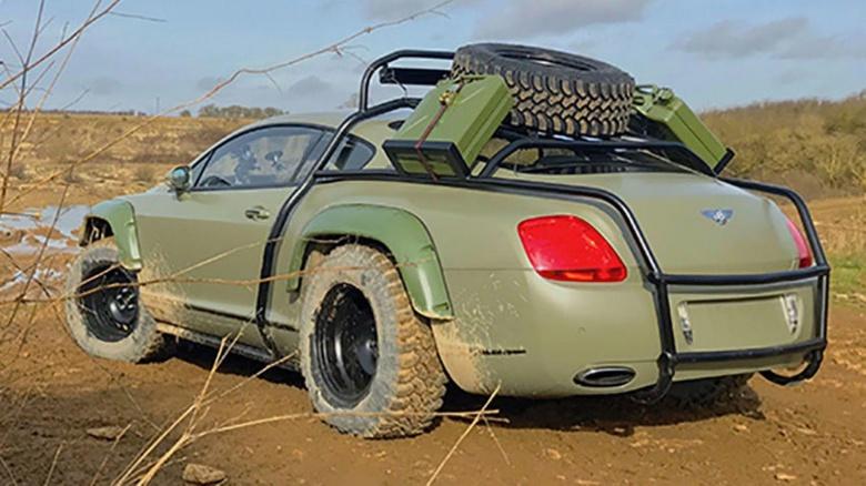 Единственный в своем роде Bentley продали «за копейки» 2