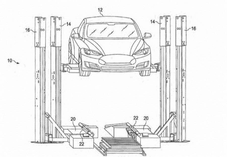 Илон Маск предлагает не заряжать, а быстро менять батареи 1
