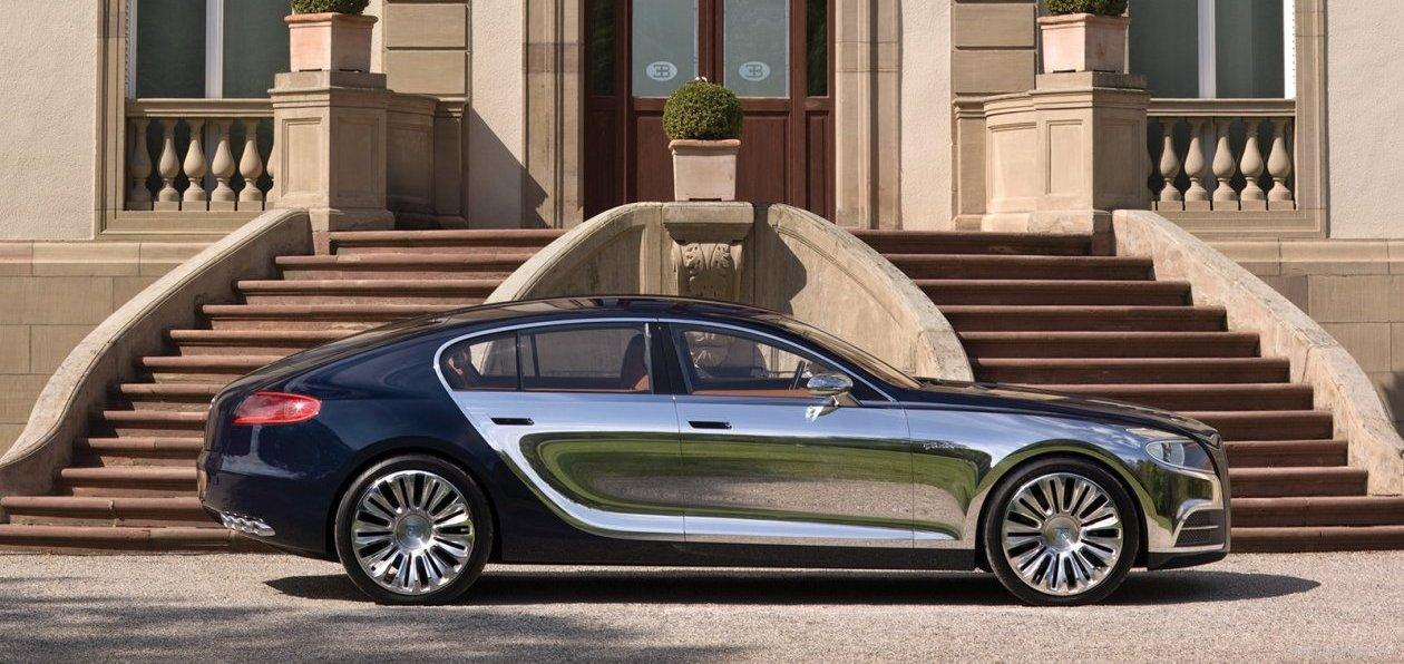 «Четырехдверный» Bugatti становится реальностью 1