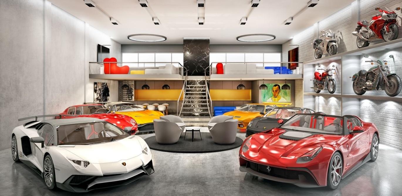 Так выглядит гараж, о котором мечтает каждый 1