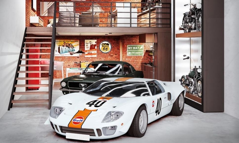 Так выглядит гараж, о котором мечтает каждый 2