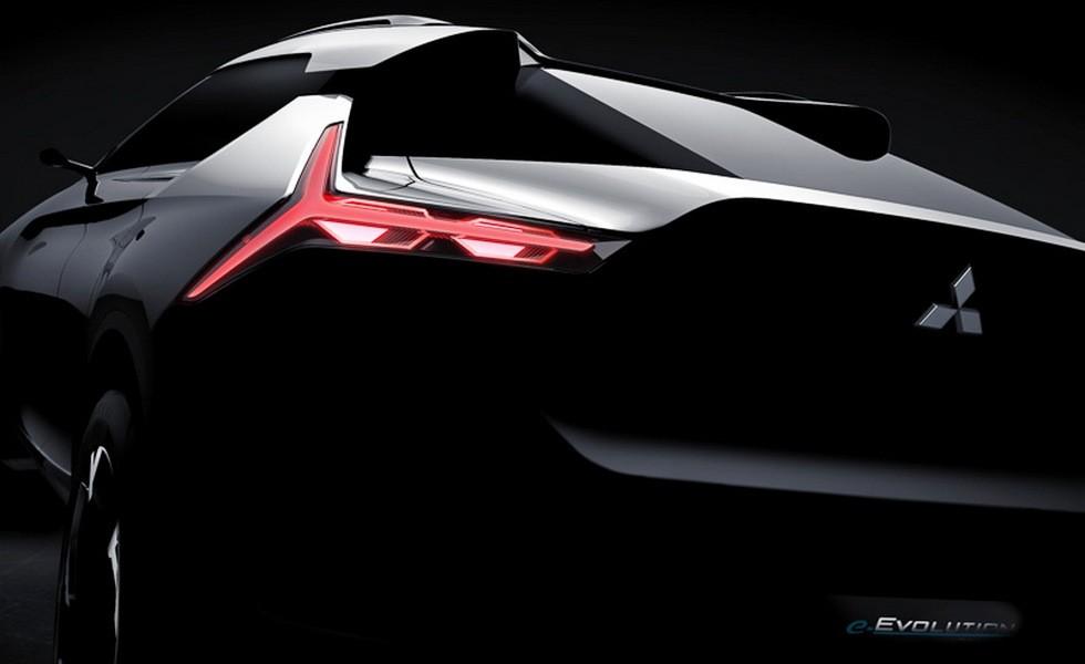 «e-Evolution» - автомобиль будущего от Mitsubishi 1