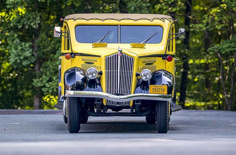 Раритетный автобус продают по цене «тройки» BMW 1