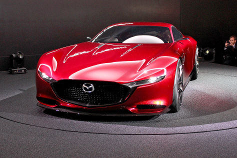 Mazda представит «роторный» концепт 1