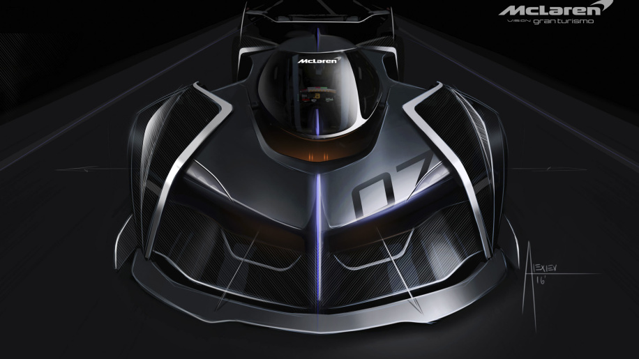 Компания McLaren показала «нереалистичный» гиперкар 1