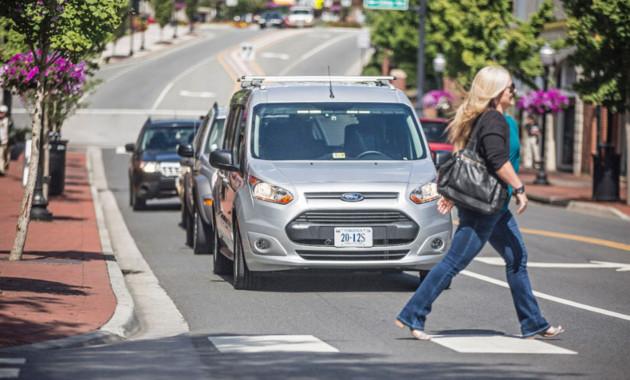 Ford начнет «делиться» беспилотными шаттлами 1