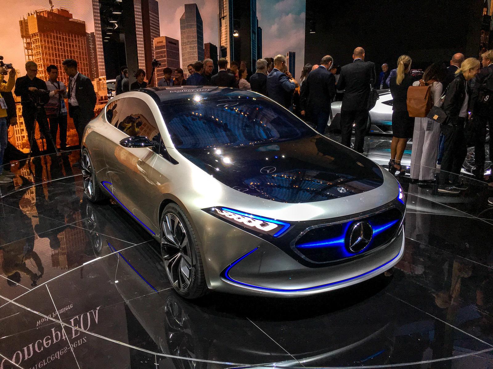 Mercedes-Benz назвал место, где начнут строить электрокроссоверы 2