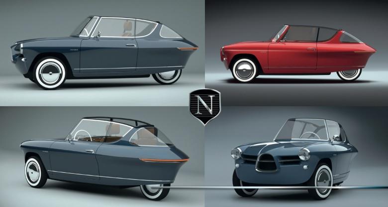 Эстонцы начнут производить автомобили с дизайном 1950-х годов 3