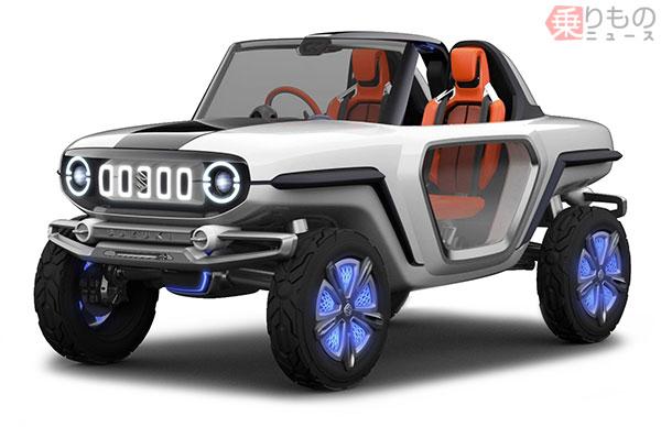 Компания Suzuki анонсировала «очень странный» внедорожник 1