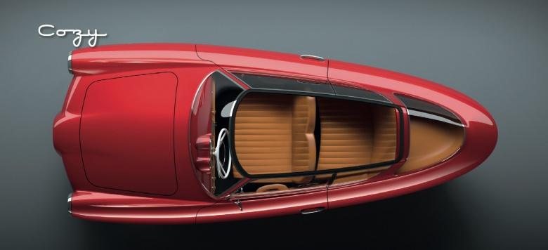 Эстонцы начнут производить автомобили с дизайном 1950-х годов 1