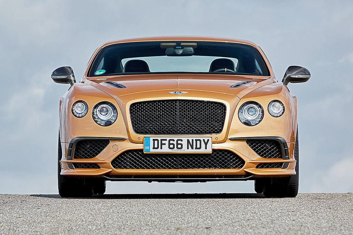 «Сравнить несравнимое»: тест драйв Bentley Continental Supersports против Volkswagen Up 5