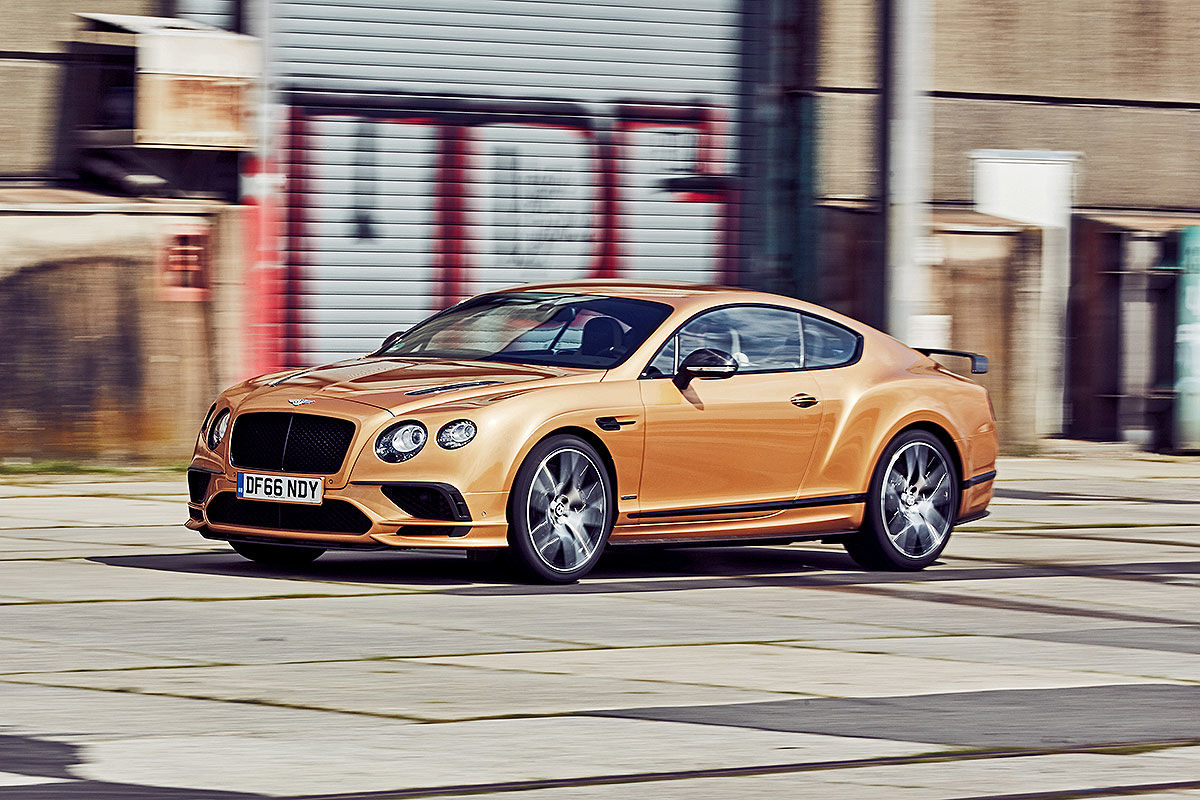 «Сравнить несравнимое»: тест драйв Bentley Continental Supersports против Volkswagen Up 3