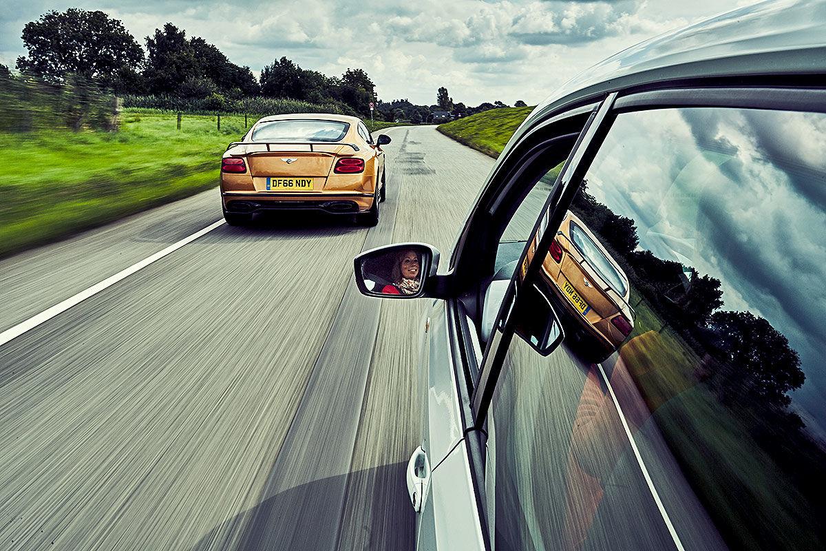 «Сравнить несравнимое»: тест драйв Bentley Continental Supersports против Volkswagen Up 2