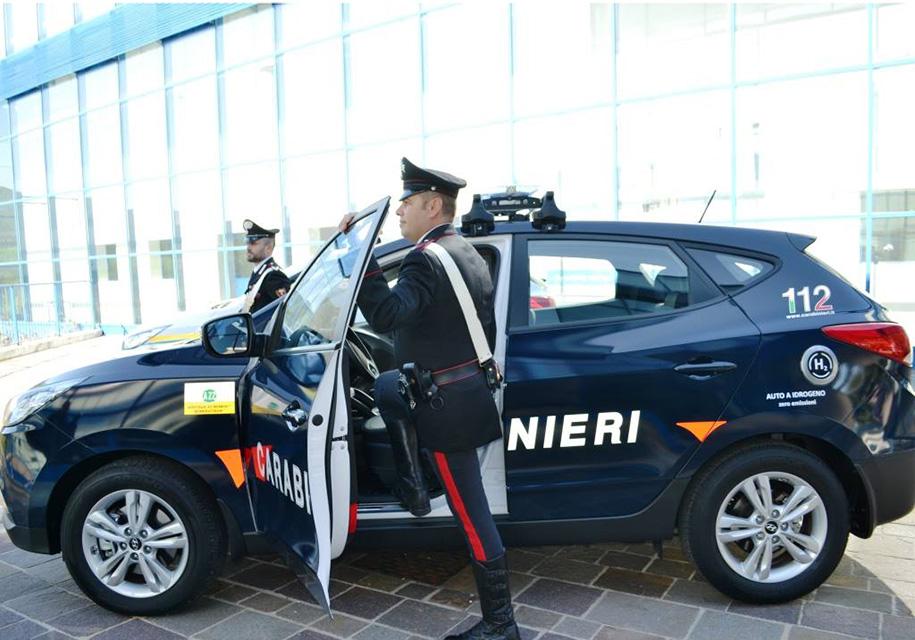 Итальянские карабинеры пересядут на водородный Hyundai 1