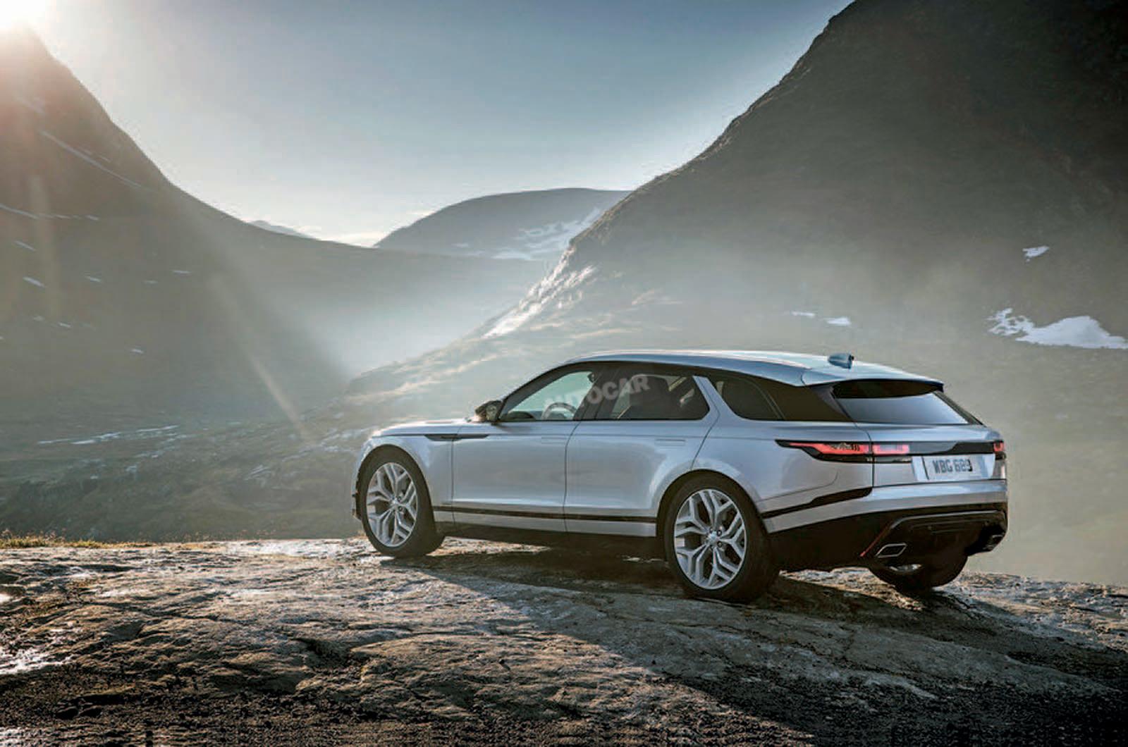 Новая модель Land Rover получила имя Road Rover 1