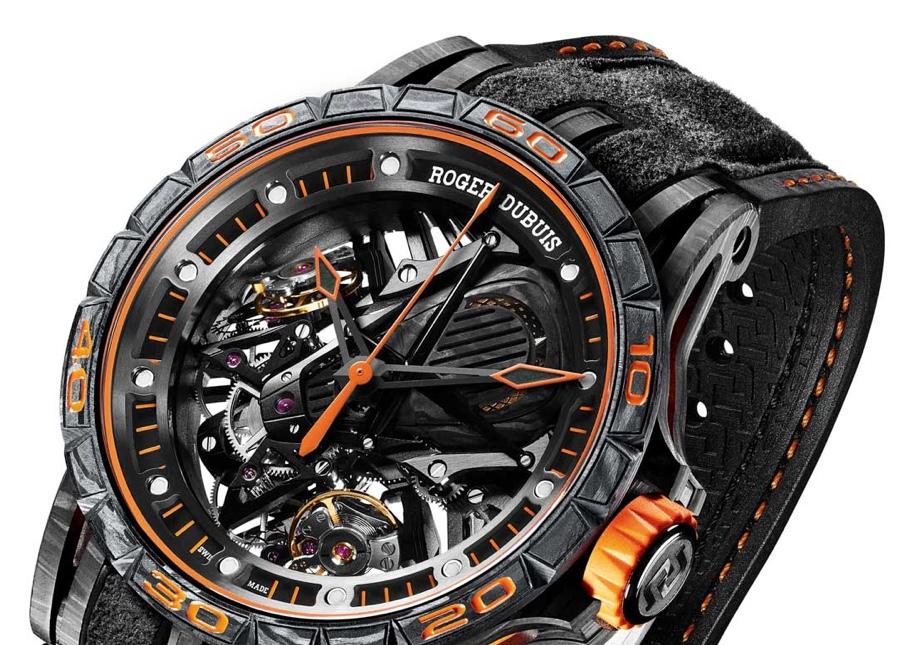 Швейцарцы сделали часы в стиле Lamborghini Aventador S 1