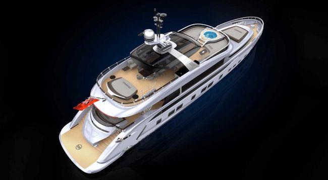 Компания Porsche презентовала роскошную яхту 1