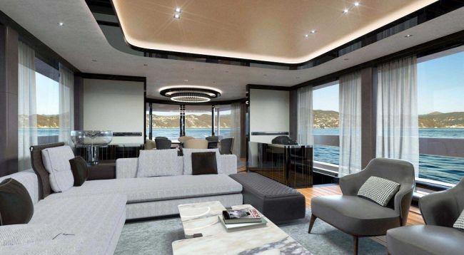 Компания Porsche презентовала роскошную яхту 3