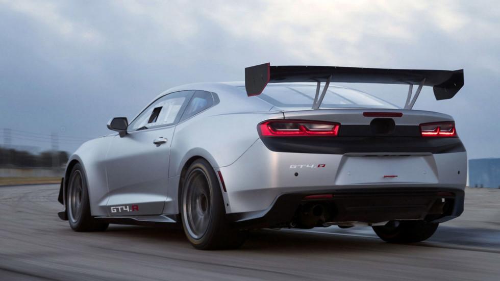 «Зловещий» Chevrolet Camaro GT4.R получил не менее «зловещую» цену 2