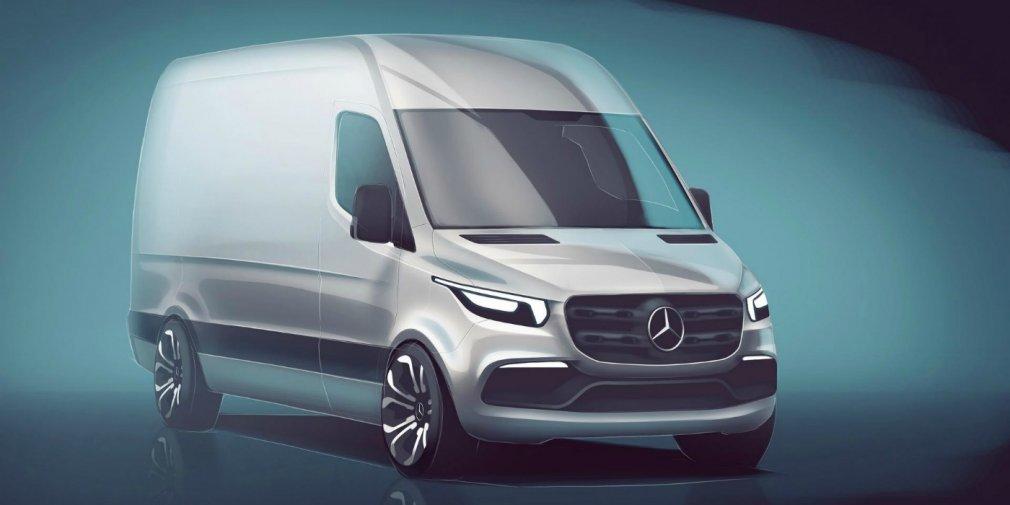 Каким будет абсолютно новый Mercedes-Benz Sprinter 1