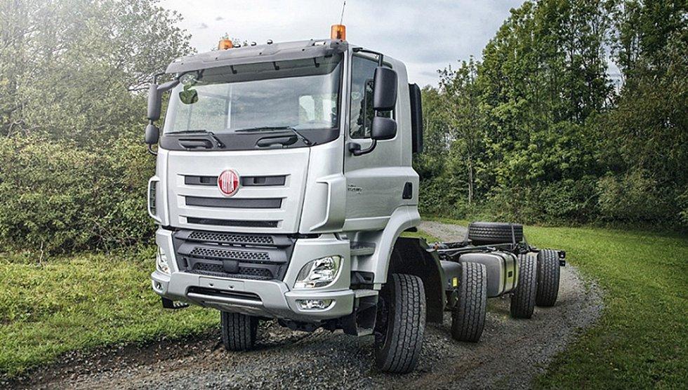 Tatra «научила» грузовик двигаться «крабом»  1