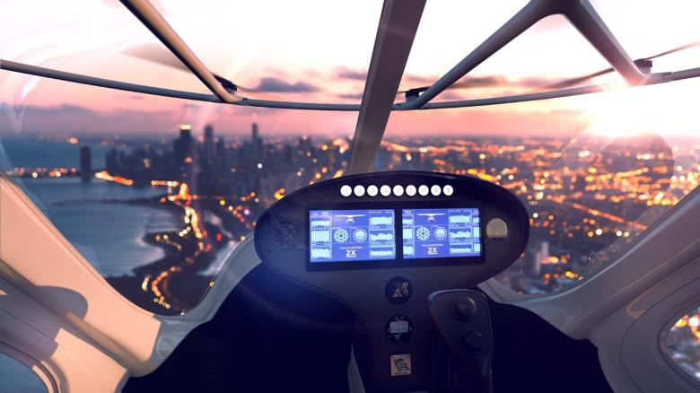 Испытания летающих такси продолжаются 3