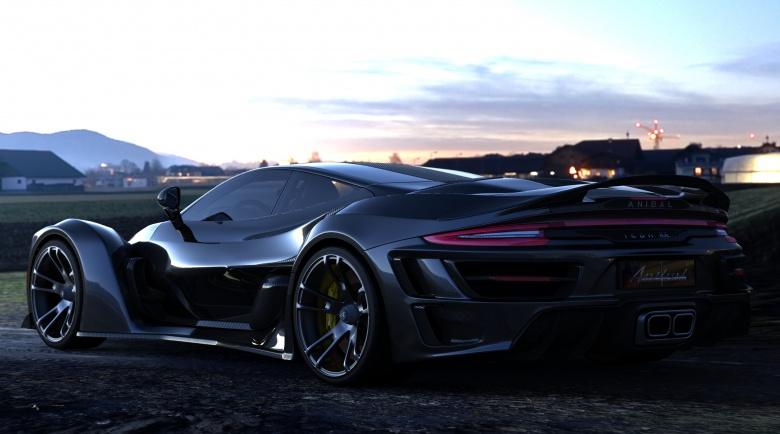 Канадцы превратят классический Porsche в «Икону» 2