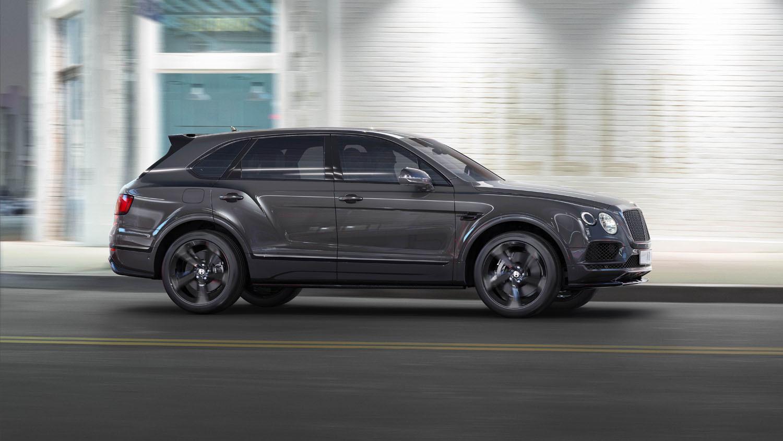 Bentley выпустит «черную» Bentayga, которая будет не обязательно черной 1