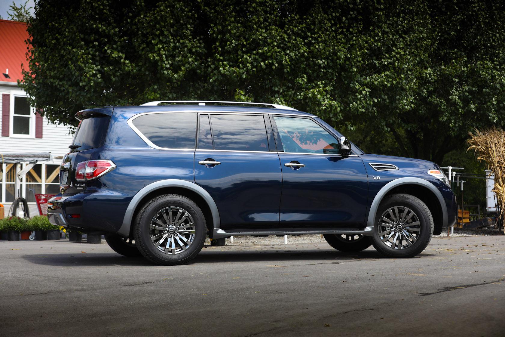 Спецверсия Nissan Armade впечаталяет роскошью 2