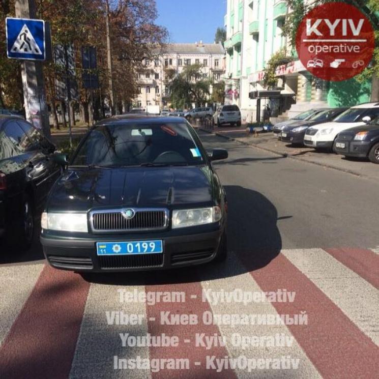 Украинцев возмутил полицейский «герой парковки» 1