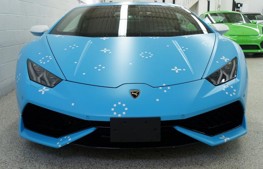 На аукцион выставили самый «няшный» Lamborghini 1