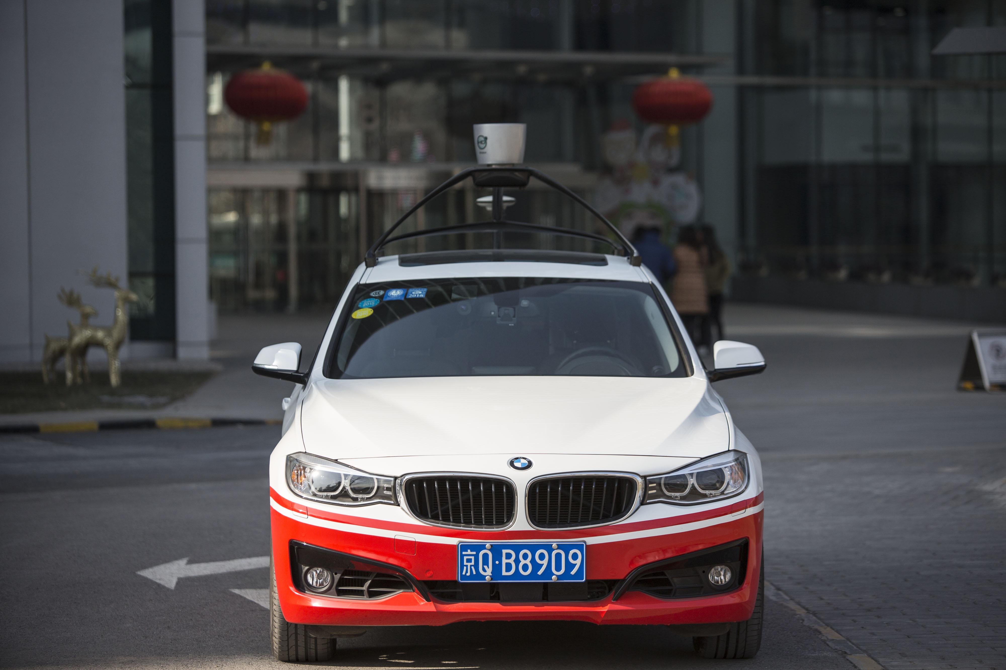 Китайский аналог Google потратит миллиарды долларов на беспилотные автомобили 2
