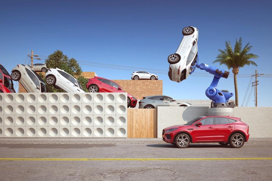 Jaguar E-Pace поместили в измененную реальность 2