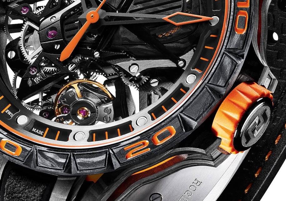 Швейцарцы сделали часы в стиле Lamborghini Aventador S 2