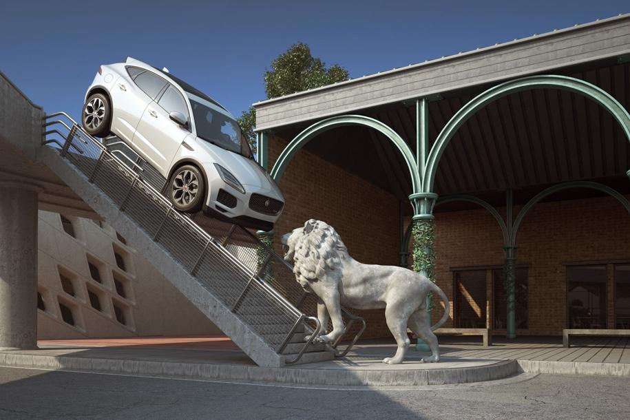 Jaguar E-Pace поместили в измененную реальность 3