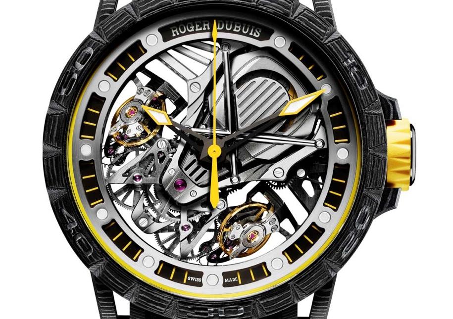 Швейцарцы сделали часы в стиле Lamborghini Aventador S 3