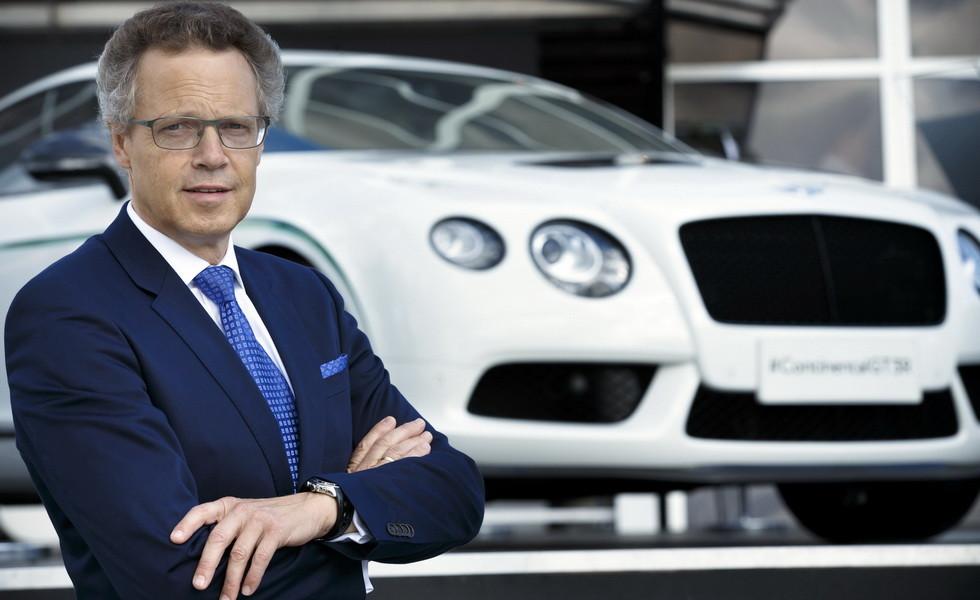 Компании Bentley и Bugatti лишились генерального директора 1