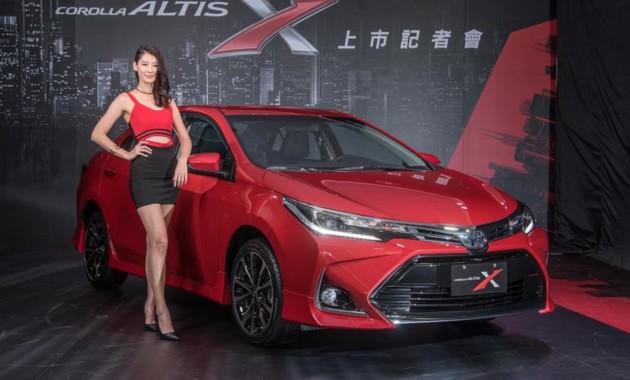 Toyota представила спортивную «Короллу» 1
