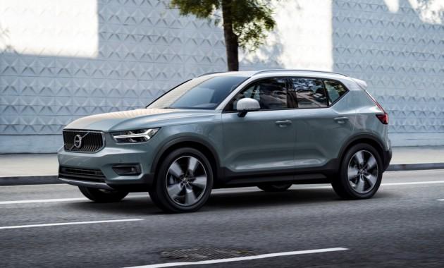 Компания Volvo официально представила новый кроссовер 1