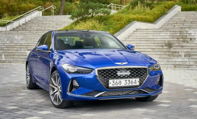 Стартовали продажи нового премиального седана из Южной Кореи 2