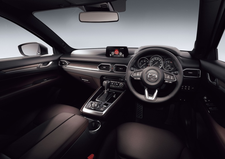Mazda официально представила кроссовер CX-8 3