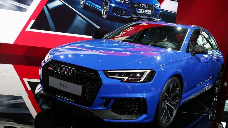 Audi представила самый быстрый универсал 1