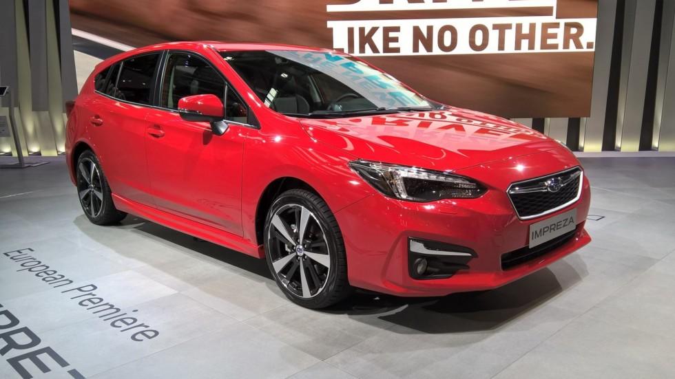 Компания Subaru презентовала новую «Импрезу» для Европы 2