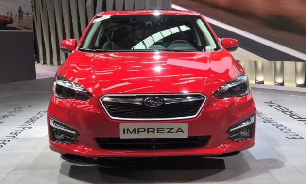 Компания Subaru презентовала новую «Импрезу» для Европы 1