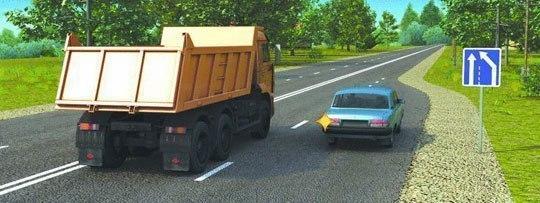 Соблюдение правил перестроения на дороге – залог безопасной езды 2