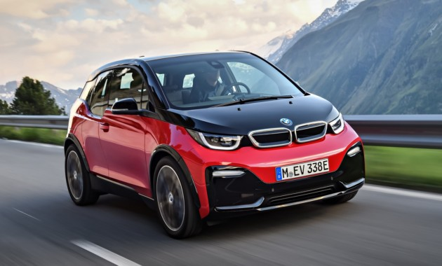 Электромобиль BMW стал «спортсменом» 2