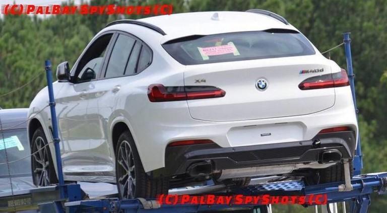 Новый BMW X4 показался без «камуфляжа» 2