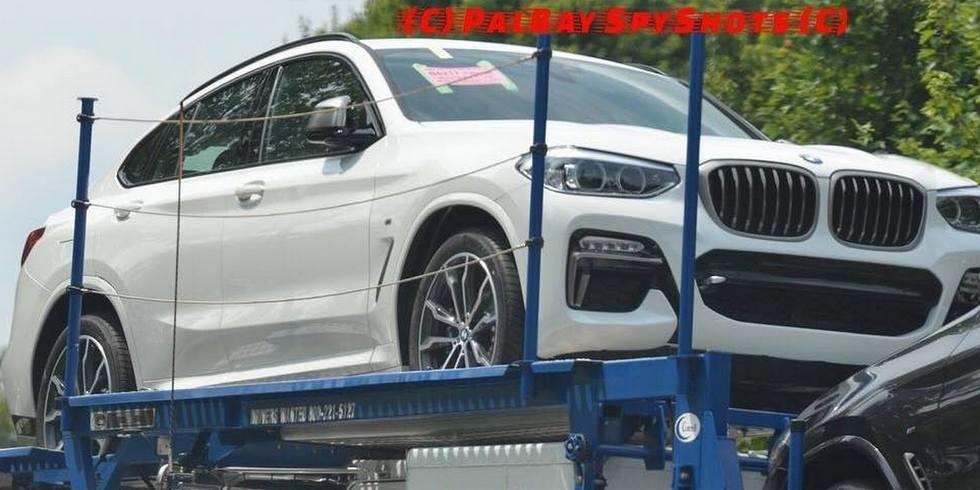 Новый BMW X4 показался без «камуфляжа» 1