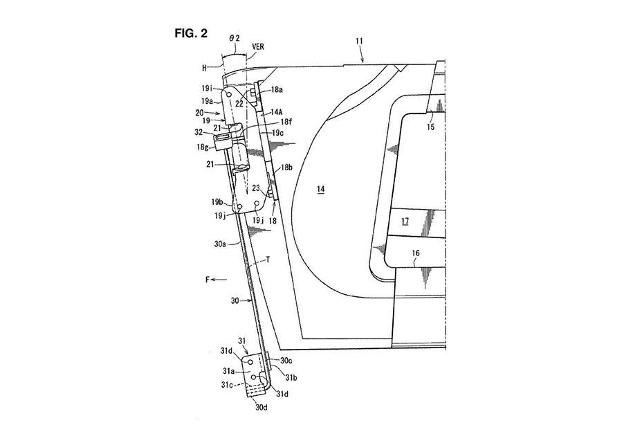 Компания Mazda запатентовала новый механизм открывания дверей 4