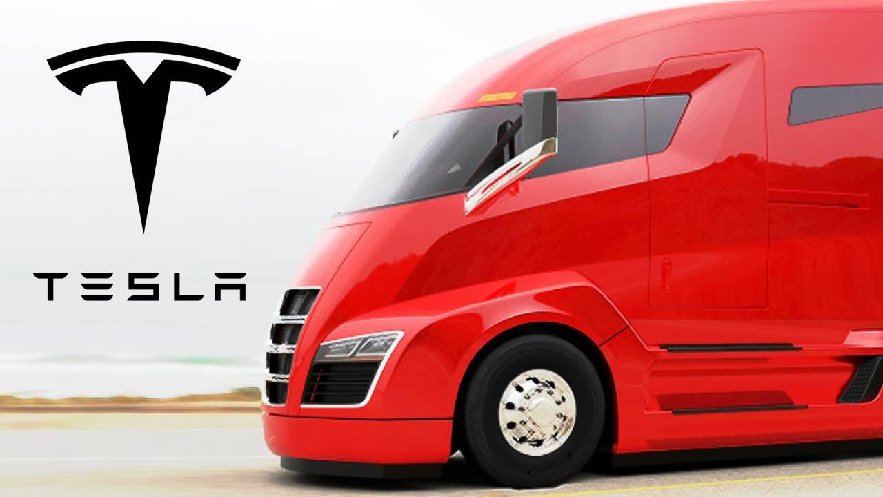 Появились новые домыслы о грузовике Tesla 1